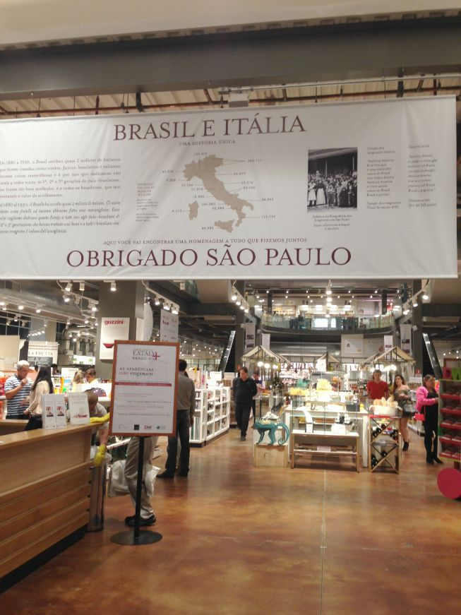 Entrando no Eataly
